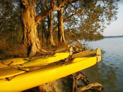 On Myall Lakes. Photo by Ann M.